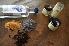 I am going to make bitters with my lavender this year. Loved this post. Can't say the same for the zombie pics in this blog... but to each their own.