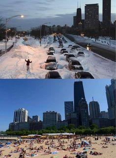 Chicago Winter 2011 vs. 2017