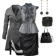 DARK, created by azulabril.polyvore.com Oh I'd love to wear this at my job!! Except if I was at the desk and actually got to work with the public instead of in the back room!