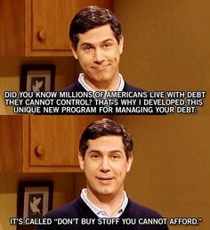 How to manage debt.