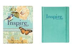 Inspire Bible NLT - A new creative art journaling Bible. Learn more at - https://www.tyndale.com/p/inspire-bible-nlt/9781496413734