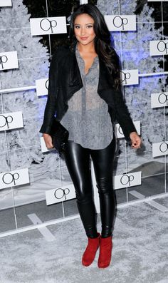 Pin for Later: Pretty Little Liars' Leading Ladies: Off Screen and On Trend Shay Mitchell