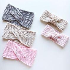 Neuen Alle : Merino dressings in stock and on order for . Crochet Bows, Crochet Yarn, Knitted Headband, Crochet Beanie, Baby Hats Knitting, Knitted Hats, Knitting Patterns, Crochet Patterns, Knitting Accessories