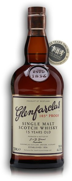 Glenfarclas 15 Year Old Proof Twe Exclusive The Whisky Exchange