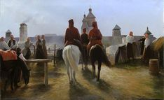 Paintings by Yuri Zhurko Yuri, Renaissance, Community, Classic, Russia, Aesthetics, Paintings, Horses, Men