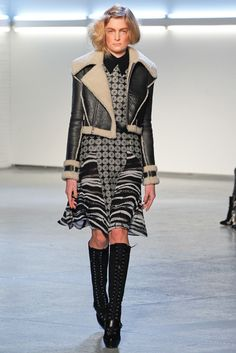 See the complete Rodarte Fall 2012 Ready-to-Wear collection.