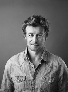 Simon Baker, Patrick Jane, Famous Celebrities, Celebs, I Love Simon, Cuerpo Sexy, Handsome Older Men, Robin Tunney, Portrait Photography Men