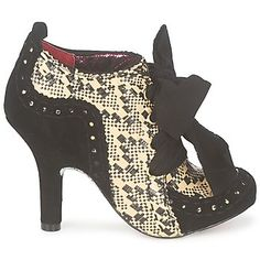 Ankle boots / Boots Irregular Choice ABIGAILS THIRD PARTY BLACK / Natural Women Shoes,irregular choice outlet brighton,irregular choice alice sale,high-tech materials