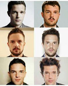 Evolution of Brandon Flowers...♥