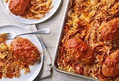 Our Sheet pan unstuffed cabbage recipe is an easy twist on classic comfort food. The time saving shortcuts and convenience of one pan make this veggie rich, high protein recipe the perfect week night meal. Easy Chicken Pot Pie, Cream Of Chicken Soup, Chicken Recipes, Unstuffed Cabbage Recipes, Shakshuka Recipes, Indian Butter Chicken, Cooking White Rice, Corn Beef And Cabbage, Coleslaw Mix