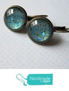 Glitter Glass Antiqued Gold-Tone Drop Earrings Seafoam Green and Blue Leverback from Summerfield Collection http://www.amazon.com/dp/B01ADW0LFS/ref=hnd_sw_r_pi_dp_yXtLwb0R9XFXQ #handmadeatamazon