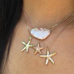 Star Gazers✨ @yakirarona #YakiraRona #SeaStars #Opal @elisabethbelljewelry #ElisabethBell #ROSEARK