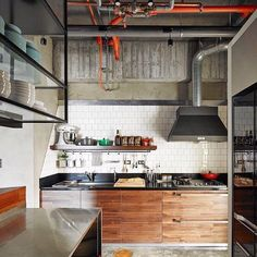 #interior #interiordesign #loft #kitchen
