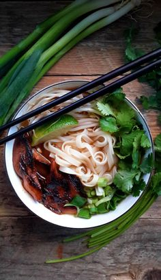 Vietnam's most famous soup made vegan! Start with a killer vegetable broth with a few select spices and add your garnishes. The best part of this dish is the smoky marinated mushrooms.