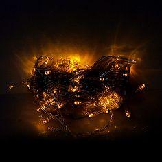 10m 100 светодиодов Рождество Хэллоуин декоративные фонари праздничные полосы света-обычные желтые легкие струны (220) – RUB p. 150,22