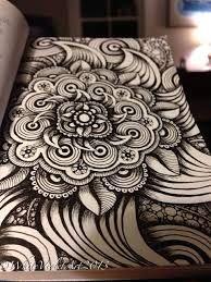 Risultati immagini per zentangle patterns ideas