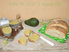 Atrapada en mi cocina: PATÉ DE AGUACATE Y ATÚN