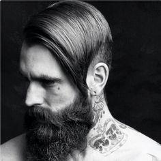 Ricki Hall beard tattoos