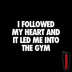 The gym is where my heart is!! for more #fitfam posts follow us to greatness @ https://twitter.com/gym_weight_S