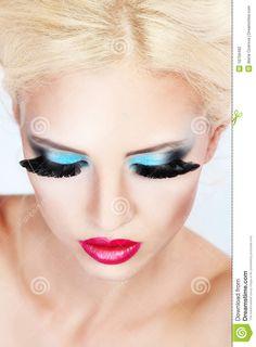 Fashion Make-up Stock Photography - Image: 18756492