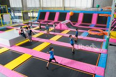 Liben Indoor Trampoline Park and Soft Play Center Project in Malaysia-4