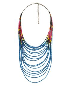Beaded Tribal Necklace | FOREVER21 - 1000038609
