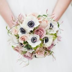 There are so many elements of this wedding I adore. The statement pretty florals are amazing.