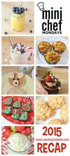 Mini Chef Mondays 2015 Recap Easy and Simple Recipes for your toddler and kids to make in the kitchen. Recipes, Healthy, Family!