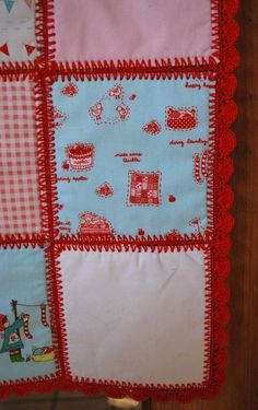 Crochet Baby Patchwork Quilt // Piper's Quilts in Salt Lake