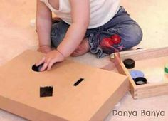 Baby Games, Easy Crafts, Activities For Kids, Home Appliances, Bathroom, Ideas, House Appliances, Washroom, Children Activities