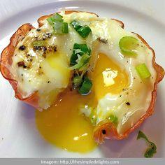 Ovos Assados no Peito de Peru ~ PANELATERAPIA - Blog de Culinária, Gastronomia e Receitas