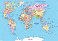 Image result for карта мира на русском