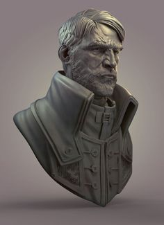 """Is this some kind of bust?"" - my zbrush works - Page 3"