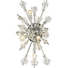 Starburst 4-Light Wall Sconce in Polished Chrome | ELK Lighting | Home Gallery Stores