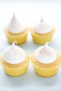 Arroz con leche cupcakes.