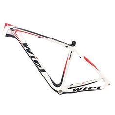 Wiel Full Carbon Fiber Mountain Bike Frame Enbb 29er MTB Bike Frame 19in Red White B117 Wiel Cycling http://www.amazon.com/dp/B00VB9B5QM/ref=cm_sw_r_pi_dp_QrGTvb0RAV05C