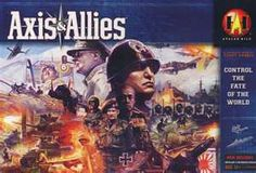What a fantastic, complicated game this is! Axis and Allies took a while to set up but was a lot of fun!