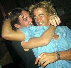 Jonathan Rhys Meyers & Colin Farrell