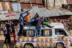 With party nominations just around the corner political campaign caravans are a big show in Kibera. Politicians with their bunch of supporters are taking it to the streets to sell their agendas manifestos of hope and promises of everything good. ##KiberaStories  Photo by Bryan Jaybee @storitellah