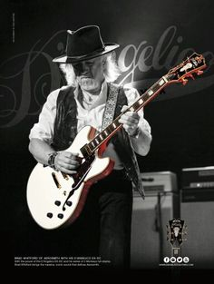Aerosmith Brad Whitford D'Angelico EX-DC electric guitar ad 8 x 11 advertisement Learn Acoustic Guitar, Acoustic Guitars, Brad Whitford, Gary Clark Jr, Guitar Magazine, Electric Violin, Joe Perry, Guitar Tips, Guitar Lessons