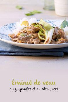 Plusieurs pièces de viande conviennent à l'émincé. N'oublie pas: la viande ne doit pas forcément provenir du dos, c'est là que se situent les pièces les plus chères. L'épaule ou la cuisse fournissent également une bonne viande pour de l'émincé. Valeur Nutritive, C'est Bon, Food And Drink, Beef, Drizzle Cake, Cooking Recipes, Thai Basil, Lime Juice, Meat