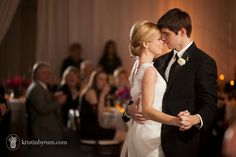 Hall & Webb Event Design-Charlotte Wedding Planner Kristin Byrum Photography  bride and groom first dance