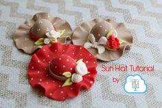 Sun Hat Tutorial | Satin Ice