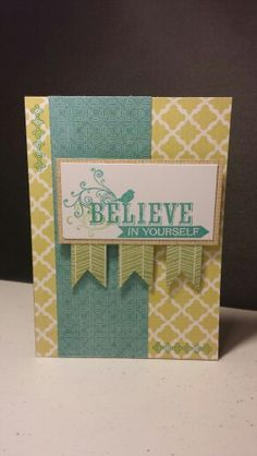 Skylark Card I made for a swap of CTMH consultants. Katiebasden.ctmh.com