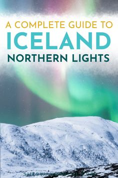 Find out when and where to see the northern lights in Iceland in this guide from Wanderful. It covers everything from the best time to see the northern lights in Iceland to how to plan your trip and the top things to do in Reykjavik. | When to see the northern lights | Iceland northern lights trip | Iceland northern lights tour | Aurora borealis travel | Aurora borealis northern lights Iceland Travel Tips, Travel Tips For Europe, World Travel Guide, Travel Abroad, Travel Guides, Northern Lights Trips, Northern Lights Iceland, See The Northern Lights, Adventure Bucket List