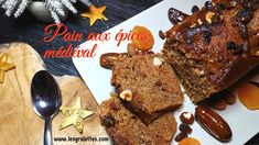 Boichet, recette de pain d'épices médiéval Biscuits, French Toast, Thanksgiving, Breakfast, Desserts, Food, Cheesy Rice, Gingerbread Loaf Recipe, Kitchens