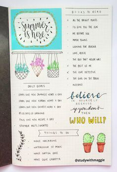 18 Genius Summer Bullet Journal Ideas To Start On ASAP