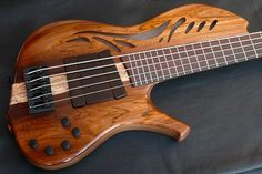 Kenneth Lawrence Instruments ChamberBrase II electric bass guitar