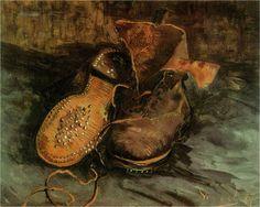 "VAN GOGH, ""A PAIR OF SHOES"" 1886"