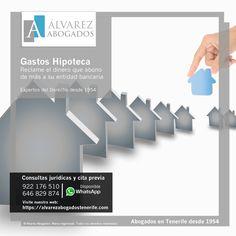 Gastos Hipoteca: Reclame el dinero que abono de más a su entidad bancaria. https://alvarezabogadostenerife.com/?p=12206
